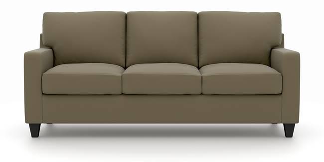 Walton Leatherette Sofa (Cappuccino) (Cappuccino, Leatherette Sofa Material, Regular Sofa Size, Regular Sofa Type)