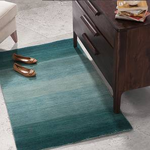 Aurora carpet teal lp