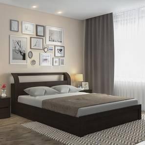 Sutherland Storage Bed (King Bed Size, Dark Walnut Finish) by Urban Ladder - Full View - 152264