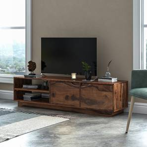 Zephyr TV Unit (Teak Finish) by Urban Ladder - Design 1 Full View - 156044
