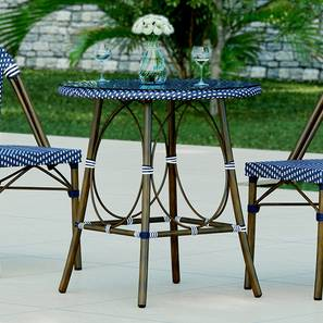 Kea Patio Table (Brown) by Urban Ladder - Design 1 Full View - 160149