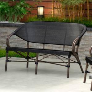 Cirali 2 Seater Chair (Black) by Urban Ladder