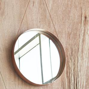 Taylor Wall Mirror (Round Mirror Shape) by Urban Ladder - Front View Design 1 - 161137