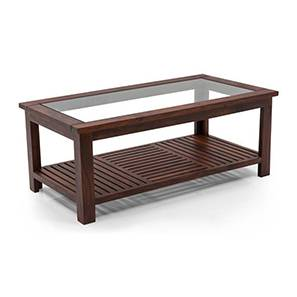 Claire Coffee Table (Teak Finish, Large Size) by Urban Ladder - Pic - 161565