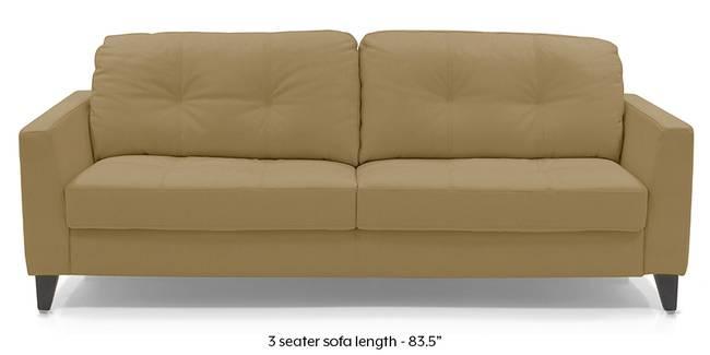 Franco Sofa (Camel Italian Leather) (Camel, Regular Sofa Size, Regular Sofa Type, Leather Sofa Material)