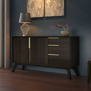 Taarkashi Wide Sideboard (American Walnut Finish) by Urban Ladder - Design 1 Full View - 185028