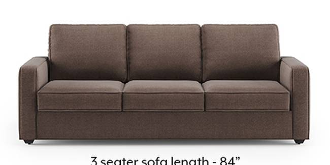 Apollo Sofa Set (Fabric Sofa Material, Regular Sofa Size, Soft Cushion Type, Regular Sofa Type, Master Sofa Component, Daschund Brown, Regular Back Type, Regular Back Height)