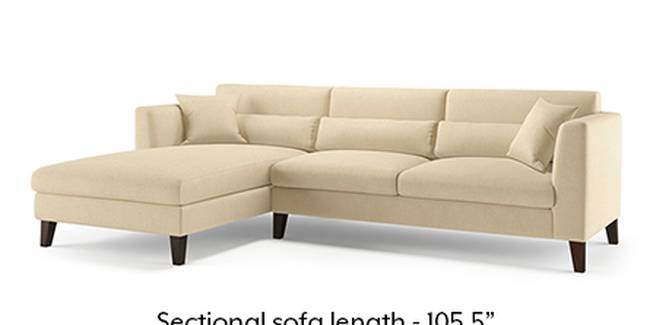 Lewis Sofa (Fabric Sofa Material, Regular Sofa Size, Soft Cushion Type, Sectional Sofa Type, Sectional Master Sofa Component, Birch Beige)
