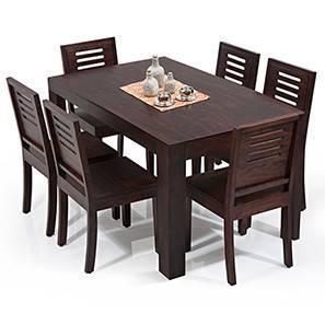 Arabia capra 6 seat dining table set mahogany finish 00 img 9805 lp