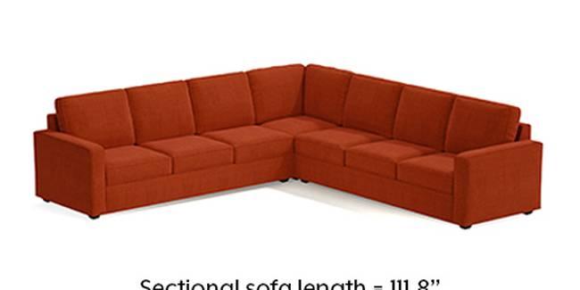 Apollo Sofa Set (Lava, Fabric Sofa Material, Regular Sofa Size, Soft Cushion Type, Corner Sofa Type, Corner Master Sofa Component, Regular Back Type, Regular Back Height)