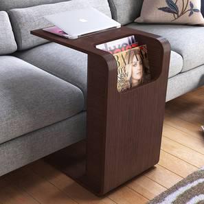 Posen Laptop Table (Dark Ash Finish) by Urban Ladder - Design 1 Full View - 194608