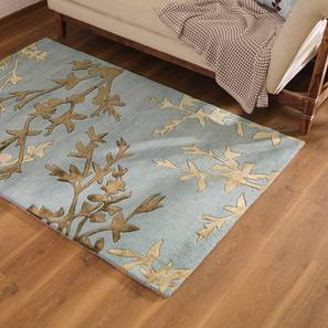"""Dilshad Hand Tufted Carpet (122 x 183 cm  (48"""" x 72"""") Carpet Size) by Urban Ladder - Design 1 Full View - 202683"""