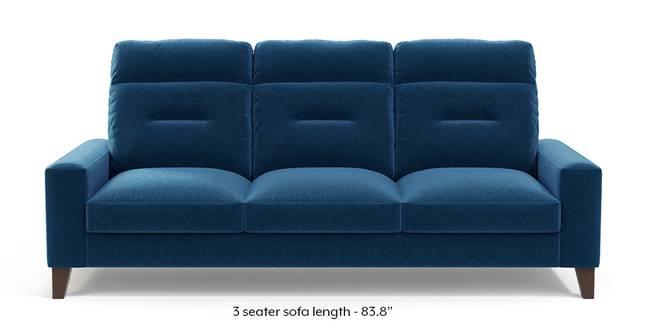 Siena Sofa (Cobalt Blue) (1-seater Custom Set - Sofas, None Standard Set - Sofas, Cobalt, Fabric Sofa Material, Regular Sofa Size, Regular Sofa Type)