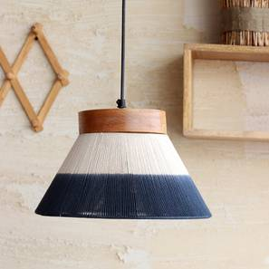 Kharga Hanging Lamp (Natural Finish) by Urban Ladder - Design 1 Full View - 207464