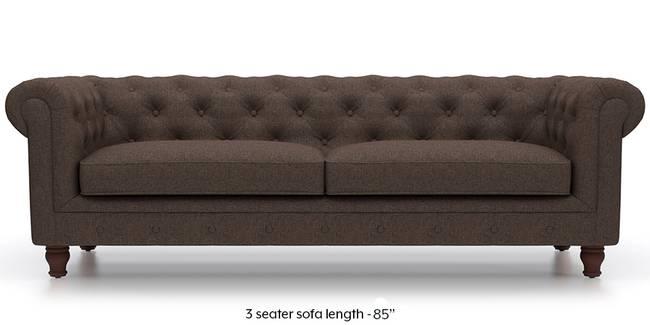 Winchester Fabric Sofa (Mocha Brown) (Mocha, Fabric Sofa Material, Regular Sofa Size, Regular Sofa Type)