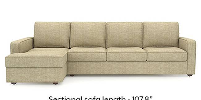 Apollo Sofa Set (Fabric Sofa Material, Regular Sofa Size, Soft Cushion Type, Sectional Sofa Type, Sectional Master Sofa Component, Birch Beige, Regular Back Type, Regular Back Height)