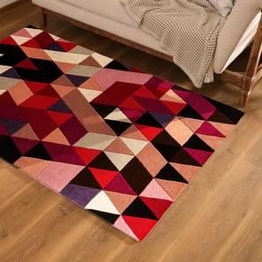 "Cameroon Carpet (152 x 244 cm  (60"" x 96"") Carpet Size, Salmon) by Urban Ladder - Design 1 Full View - 216237"
