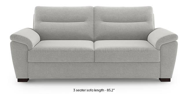 Adelaide Sofa (Vapour Grey) (1-seater Custom Set - Sofas, None Standard Set - Sofas, Fabric Sofa Material, Regular Sofa Size, Regular Sofa Type, Vapour Grey)