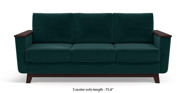 Corby Sofa (Malibu Blue) (3-seater Custom Set - Sofas, None Standard Set - Sofas, Fabric Sofa Material, Regular Sofa Size, Malibu, Regular Sofa Type)