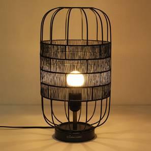 Kebili Table Lamp (Grey) by Urban Ladder - Design 1 Full View - 239754