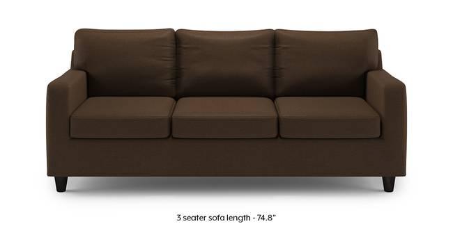 Walton Sofa (Desert Brown) (1-seater Custom Set - Sofas, None Standard Set - Sofas, Fabric Sofa Material, Regular Sofa Size, Regular Sofa Type, Desert Brown)