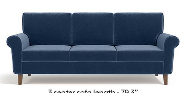 Oxford Sofa (Fabric Sofa Material, Regular Sofa Size, Soft Cushion Type, Regular Sofa Type, Master Sofa Component, Lapis Blue)