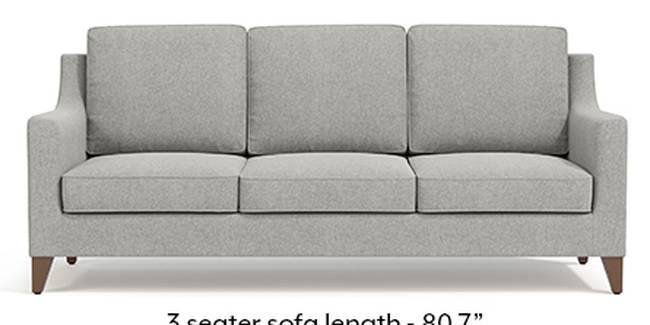 Abbey Sofa (Fabric Sofa Material, Regular Sofa Size, Soft Cushion Type, Regular Sofa Type, Master Sofa Component, Vapour Grey)