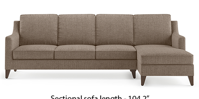 Abbey Sofa (Mist, Fabric Sofa Material, Regular Sofa Size, Soft Cushion Type, Sectional Sofa Type, Sectional Master Sofa Component)