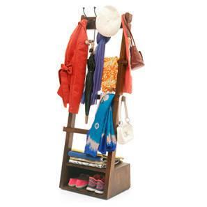 Alfred Coat Rack (Teak Finish) by Urban Ladder - - 2798