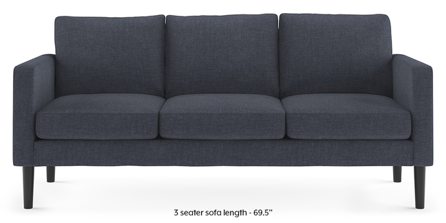 Liverpool Sofa (Blue) (Blue, 2-seater Custom Set - Sofas, None Standard Set - Sofas, Fabric Sofa Material, Regular Sofa Size, Regular Sofa Type)