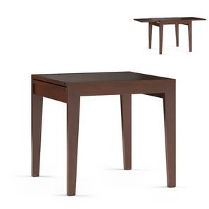 Murphy 4 to 6 Extendable Dining Table (Dark Walnut Finish) by Urban Ladder