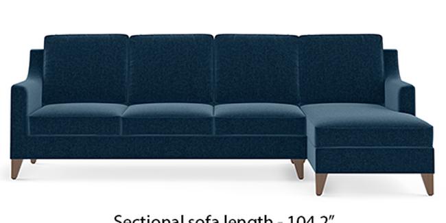 Abbey Sofa (Cobalt, Fabric Sofa Material, Regular Sofa Size, Soft Cushion Type, Sectional Sofa Type, Sectional Master Sofa Component)