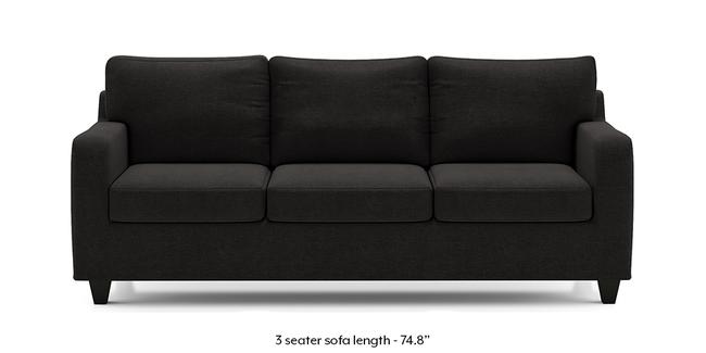 Walton Sofa (Asphalt Grey) (3-seater Custom Set - Sofas, None Standard Set - Sofas, Fabric Sofa Material, Regular Sofa Size, Regular Sofa Type, Asphalt Grey)