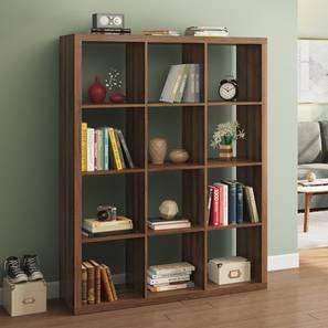 Boeberg book shelf 4x3  columbian walnut lp
