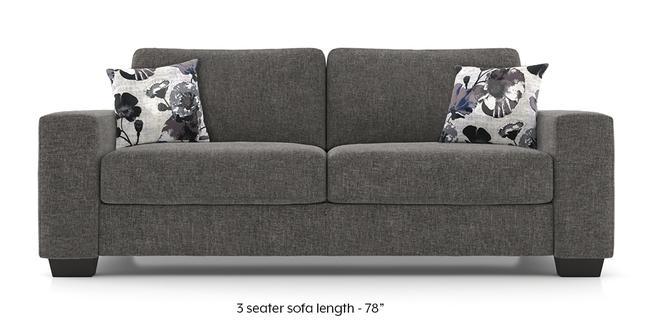 Leslie Sofa (Alloy Grey) (Alloy Grey, 2-seater Custom Set - Sofas, None Standard Set - Sofas, Fabric Sofa Material, Regular Sofa Size, Regular Sofa Type)