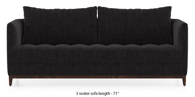 Florence Compact Sofa (Graphite Grey) (1-seater Custom Set - Sofas, None Standard Set - Sofas, Fabric Sofa Material, Regular Sofa Size, Regular Sofa Type, Graphite Grey)
