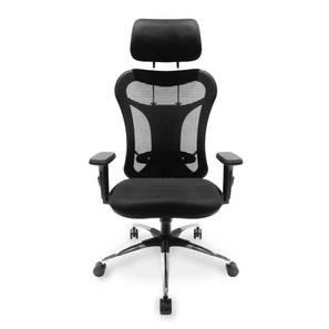 Dewey High Back Study Chair (Black) by Urban Ladder - Design 1 Front View - 298890