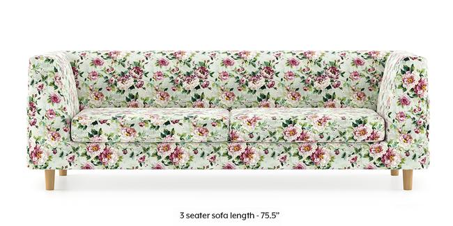 Rubik Sofa (Clara Velvet) (3-seater Custom Set - Sofas, None Standard Set - Sofas, Fabric Sofa Material, Regular Sofa Size, Regular Sofa Type, Clara Velvet)