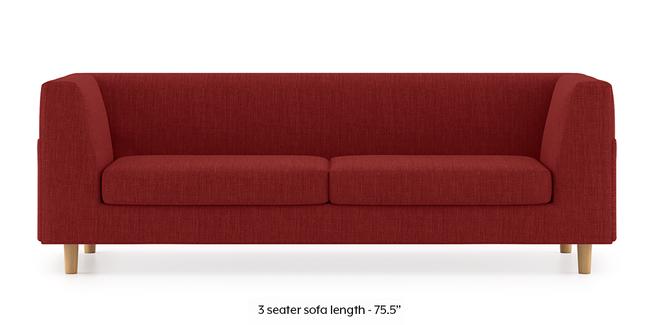 Rubik Sofa (Salsa Red) (2-seater Custom Set - Sofas, None Standard Set - Sofas, Fabric Sofa Material, Regular Sofa Size, Regular Sofa Type, Salsa Red)