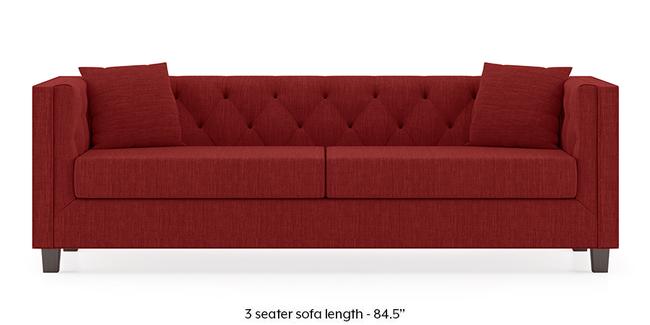 Windsor Sofa (Salsa Red) (1-seater Custom Set - Sofas, None Standard Set - Sofas, Fabric Sofa Material, Regular Sofa Size, Regular Sofa Type, Salsa Red)