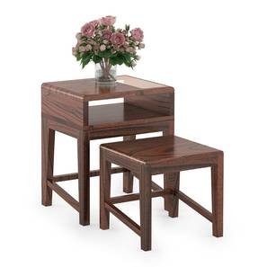 Leeds Nested Table (Wine Finish) by Urban Ladder - Design 1 Full View - 302085