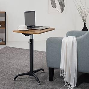 Orson Adjustable Laptop Table (Golden Oak Finish) by Urban Ladder - - 43826