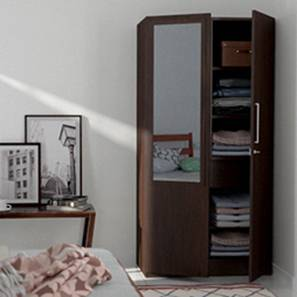 Domenico 2 door wardrobe with mirror do 10 10 lp