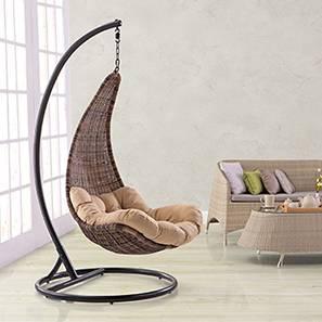 Danum Swing Chair (Brown) by Urban Ladder - Full View Design 1 - 81716