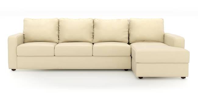 Apollo Sofa Set (Cream, Leatherette Sofa Material, Regular Sofa Size, Soft Cushion Type, Sectional Sofa Type, Sectional Master Sofa Component, Regular Back Type, Regular Back Height)