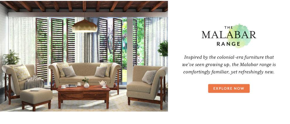 Urban Ladder Malabar Furniture Collection