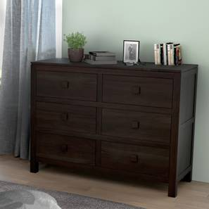 Magellan Chest Of Six Drawers (Mahogany Finish) by Urban Ladder - - 103987