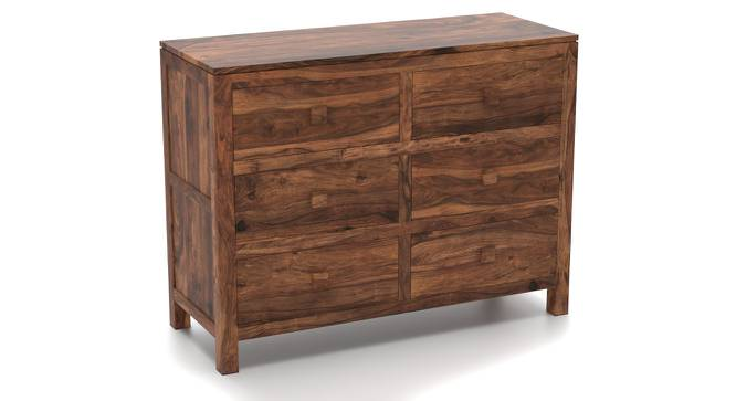 Magellan 6 Drawer Chest of Drawers (Teak Finish) by Urban Ladder