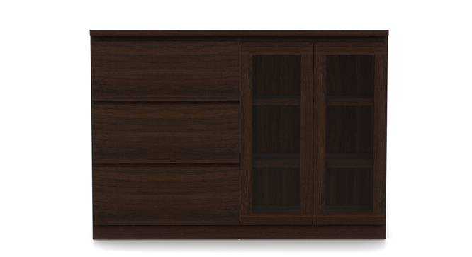 Bocado Sideboard (Dark Walnut Finish) by Urban Ladder