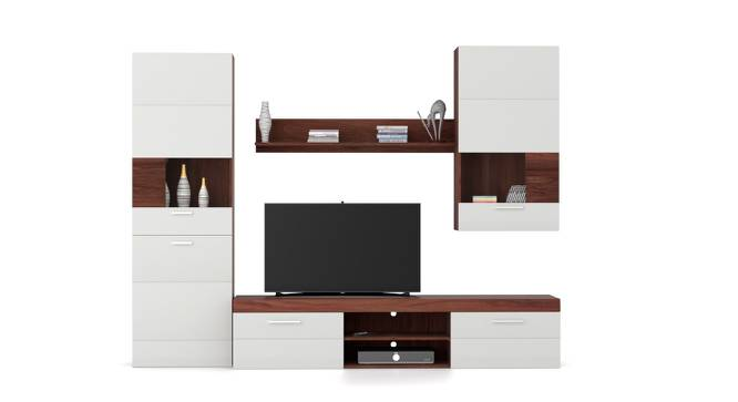 Syracuse Entertainment Set (Walnut Finish) by Urban Ladder